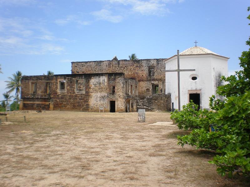 Castelo Garcia D'Ávila na Praia do Forte