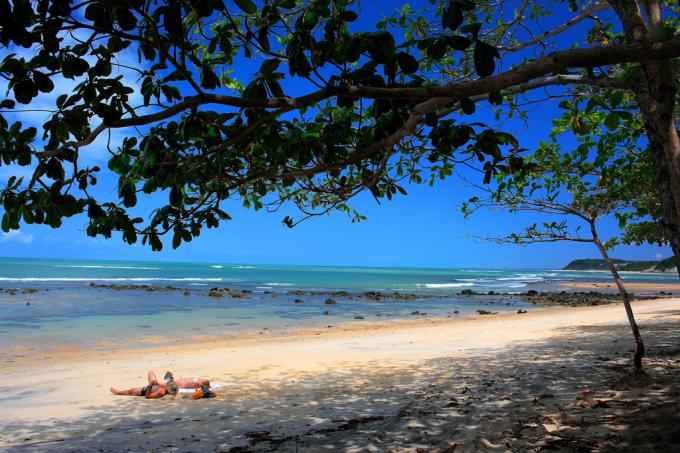 Caraíva, na Bahia