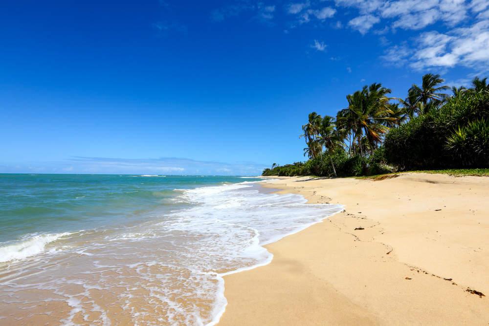 Praia de Itapororoca em Trancoso
