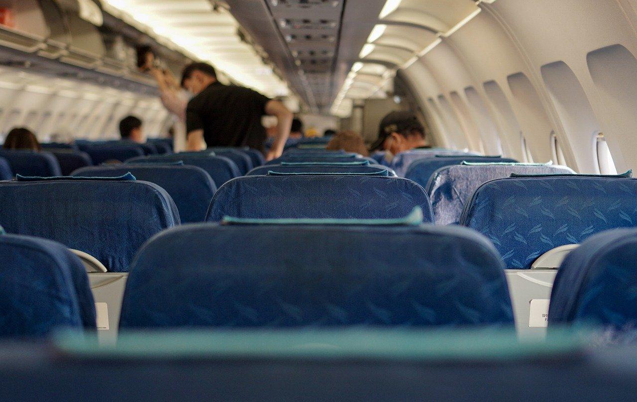 Poltronas de avião