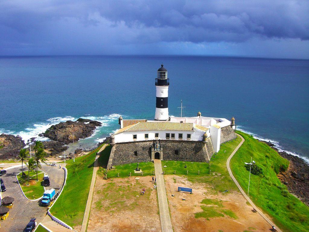 Farol da Barra em Salvador, na Bahia