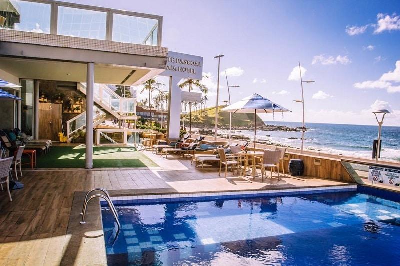 Hotel de frente para o mar em Salvador