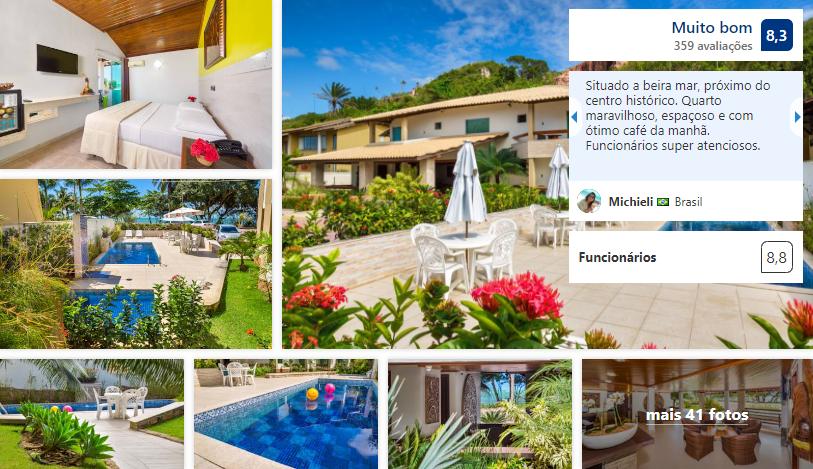 Quinta do Sol Lite Praia Hotel em Porto Seguro
