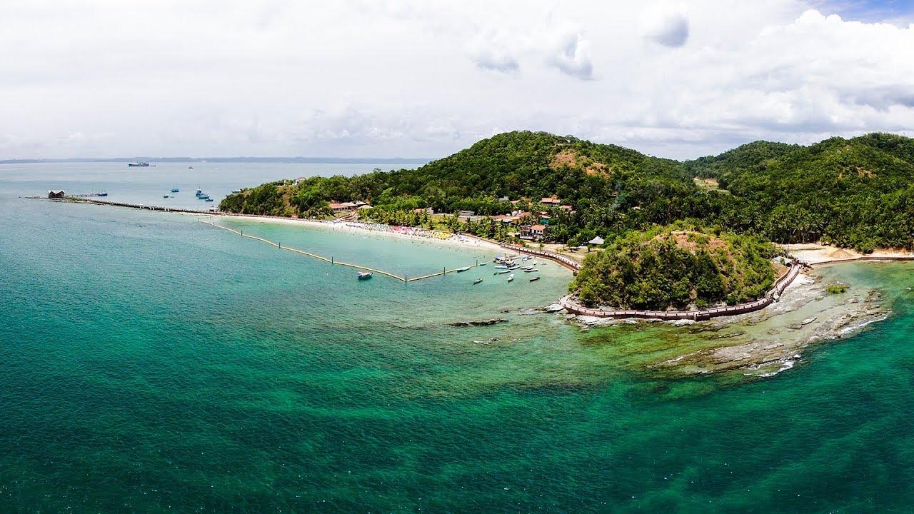Ilha dos Frades, na Bahia