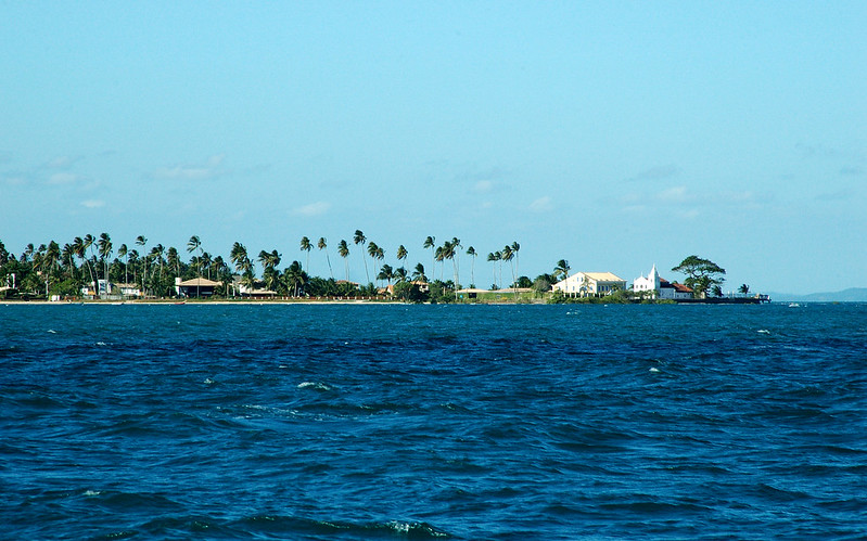 Vista da Ilha de Itaparica