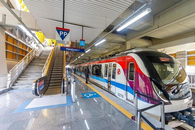 Metrô em Salvador