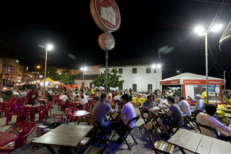Acarajé da Dinha no Rio Vermelho