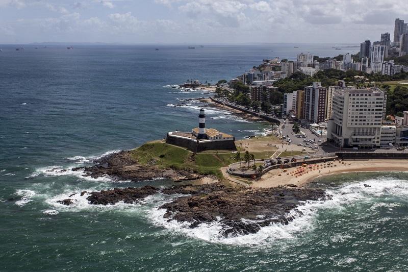 Praia da Barra em Salvador