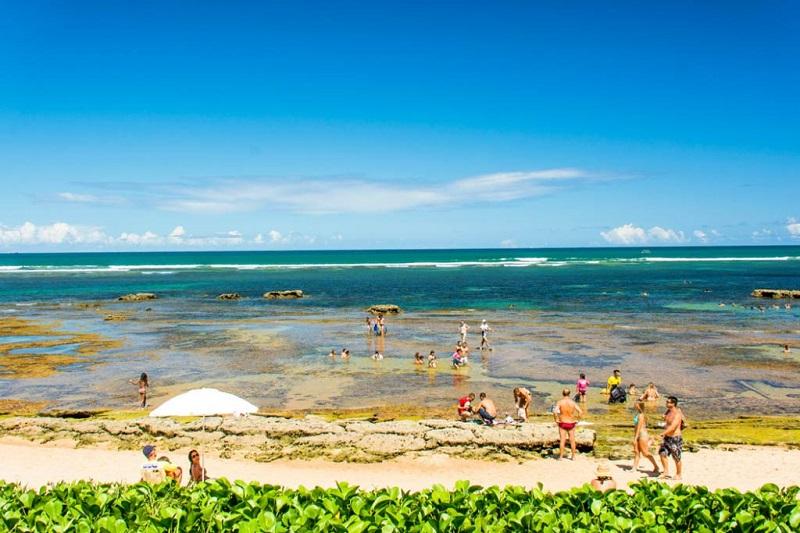 Praia do Mucugê em Porto Seguro
