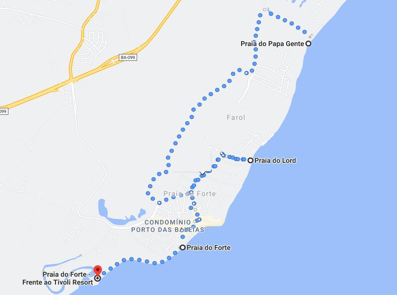 Praias de Praia do Forte