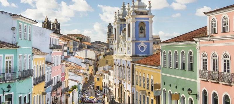 Centro histórico em Salvador