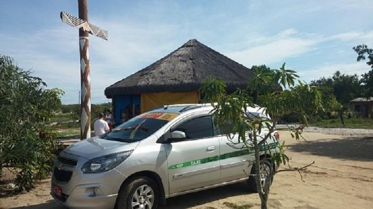 Táxi em Porto Seguro