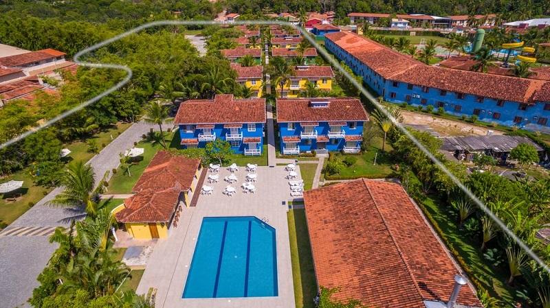 Piscina do Atlântida Park Hotel em Porto Seguro