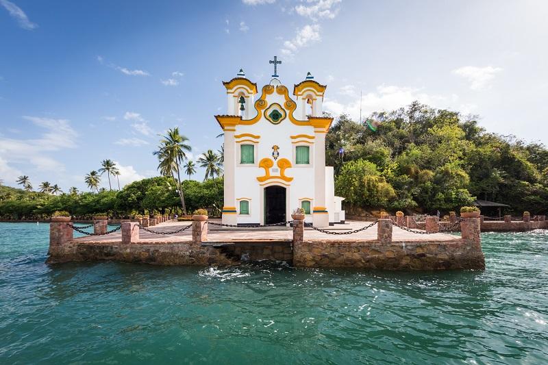 Praia do Loreto em Ilha dos Frades
