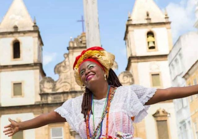 Mapa turístico da Bahia