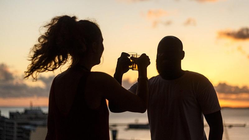 Casal em Salvador