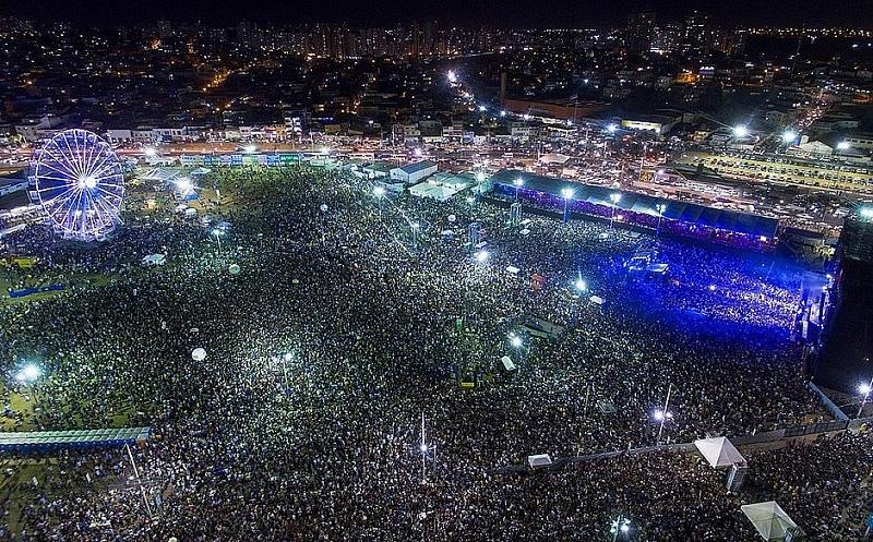 Festa de Ano novo em Salvador